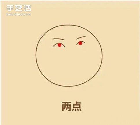爾康表情簡筆畫的畫法 搞笑爾康表情簡筆畫