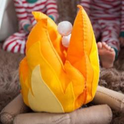 不织布火焰玩具手工制作 布艺火焰的做法图解