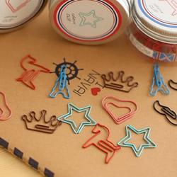 简单回形针手工小制作 DIY可爱夹子的教程