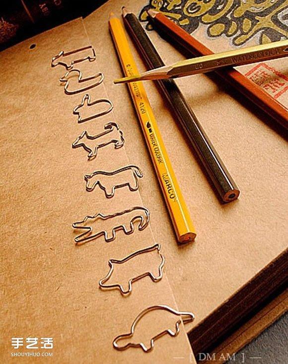 简单回形针手工小制作 diy可爱夹子的教程图片