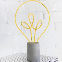 创意灯泡摆饰DIY制作 作为礼物很有新意哦