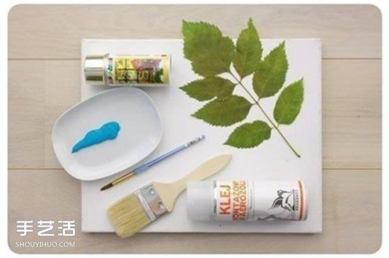 简单装饰画DIY图片 手工制作装饰画的教程