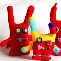 手套布偶制作过程步骤 手套玩偶制作方法图解