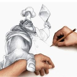 """创意3D立体画作品图片 """"跃然纸上""""的画"""