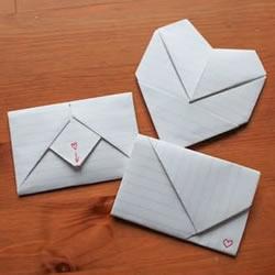 情书折叠方法图解步骤 情书信封怎么折的教程