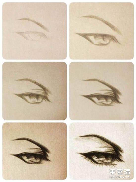 入门铅笔素描画画法 铅笔素描基础教程图解图片