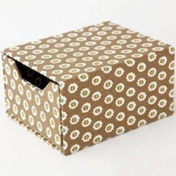 家居收纳盒制作方法 自制家用收纳盒DIY教程