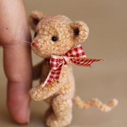 超袖珍羊毛毡小动物作品 让你忍不住想抱它