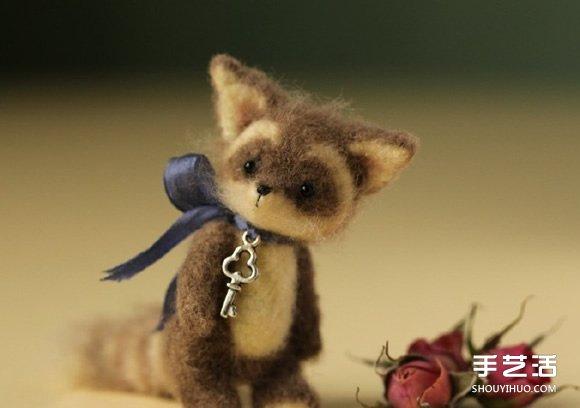 超袖珍羊毛毡小动物作品 让你忍不住想抱它 -  www.shouyihuo.com