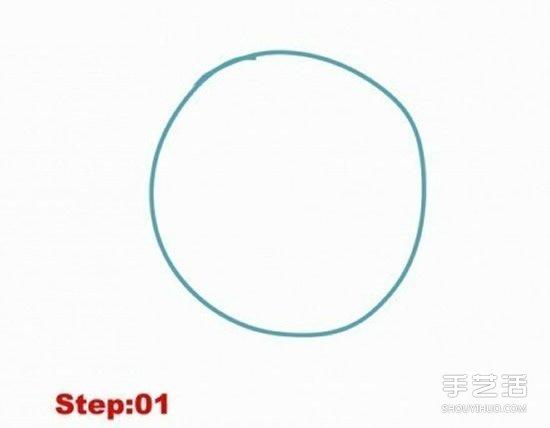 路飞简笔画图片教程 详细简笔画路飞画法步骤