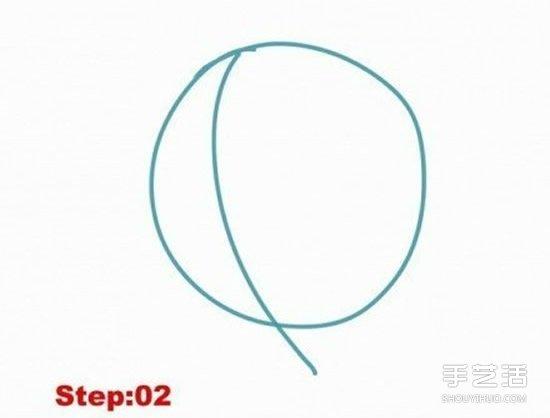 路飛簡筆畫圖片教學 詳細簡筆畫路飛畫法步驟