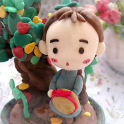 超精美的粘土人偶作品 手工粘土人偶图片欣赏