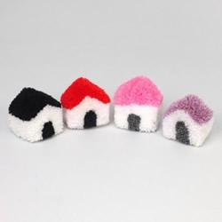 毛线球小房子的做法 可爱毛线小屋手工制作