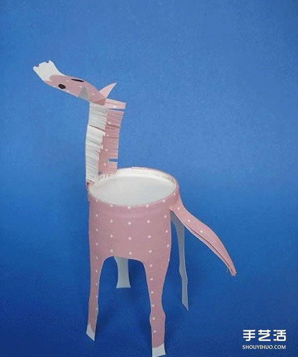 一次性纸杯手工制作小动物图片