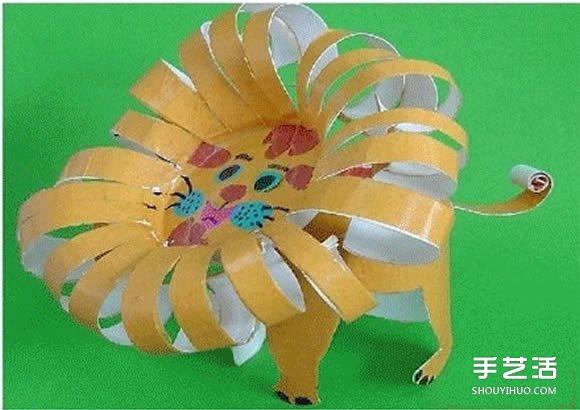 一次性纸杯手工制作小动物图片 好多种哦!