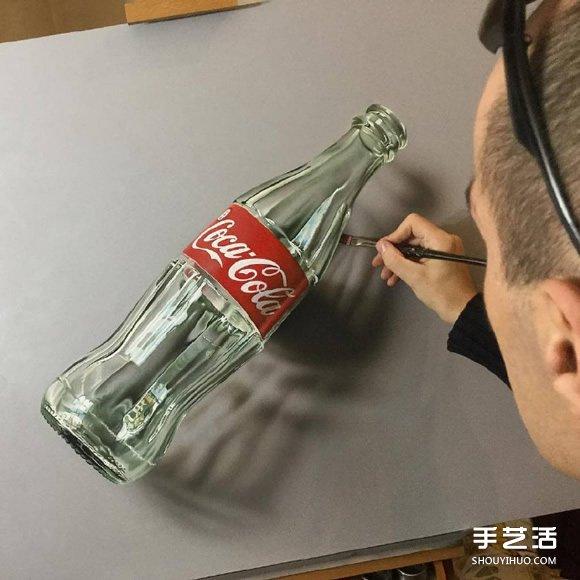 超写实立体绘画作品欣赏 让人不敢相信的逼真 - www.shouyihuo.com