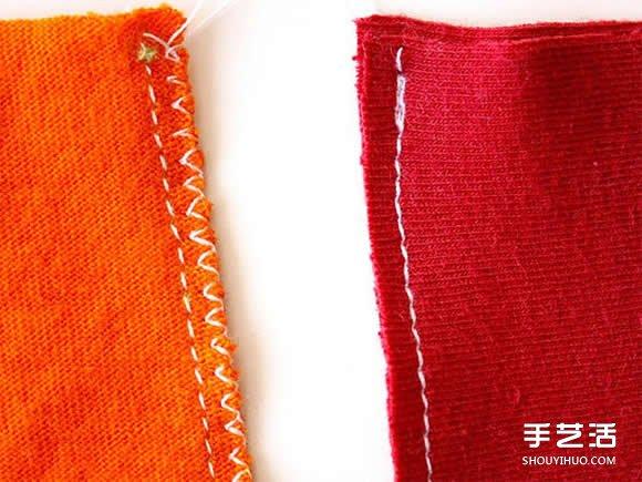 旧T恤改造网眼袋的方法 DIY网眼袋制作教程 -  www.shouyihuo.com