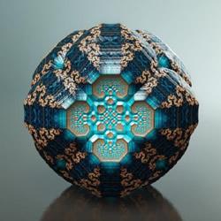 Tom Beddard分形艺术作品图片——宇宙遗珠