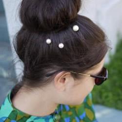 自制珍珠发卡的方法教程 简单DIY珍珠发卡图解