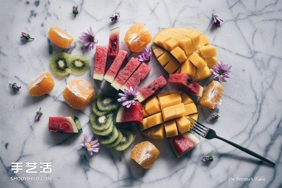 学起来受用无穷!聪明又实用的切水果小诀窍 -  www.shouyihuo.com