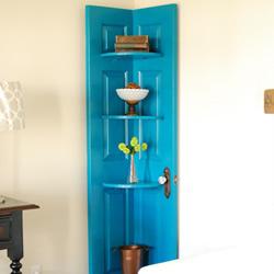 旧门板改造转角柜的方法 转角柜手工制作方法