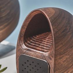 听见汪洋的回响 Grovemade的木制海螺喇叭