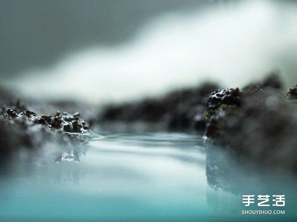 利用羊毛毡和牛奶、巧克力等DIY而成的风景 -  www.shouyihuo.com