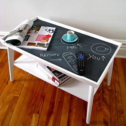 废旧物改造桌子的方法 利用废弃物DIY桌子图片