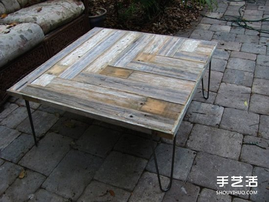 廢舊物改造桌子的方法 利用廢棄物DIY桌子圖片
