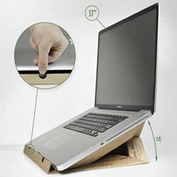 披萨盒子废物利用 DIY制作笔记本电脑散热