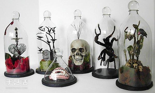自製收藏鐘罩的方法 塑料瓶做鐘罩圖解教程