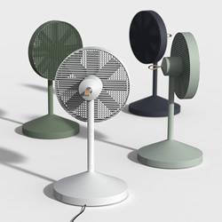 好拆好收的Conbox电风扇 节省空间的创意设计