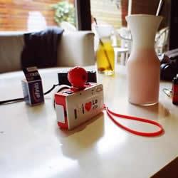 旧相机改造翻新DIY 胶带纸改造相机的方法