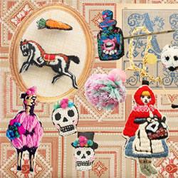 童话般的刺绣工艺 制作出独特又可爱的手机壳