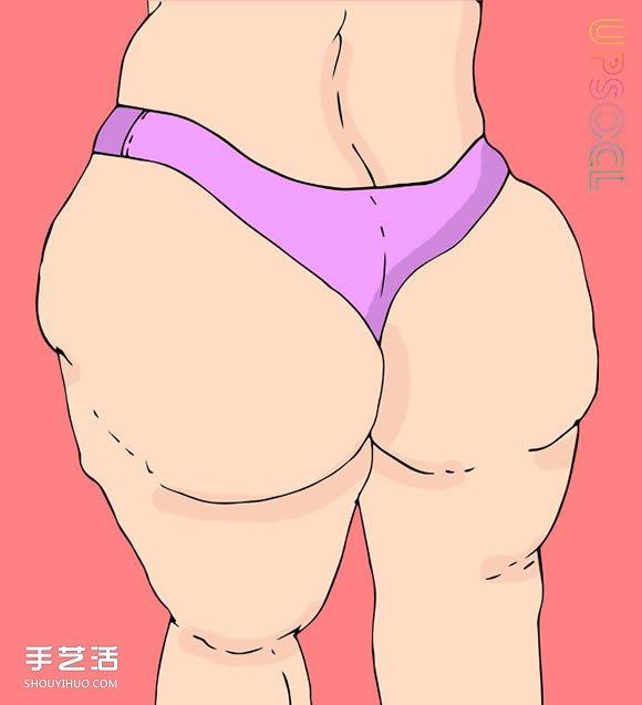 """減肥前先了解自己屬於哪一種""""脂肪類型"""""""