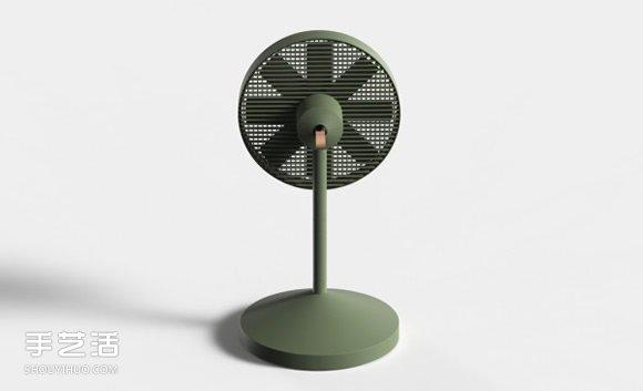 好拆好收的conbox电风扇 节省空间的创意设计图片
