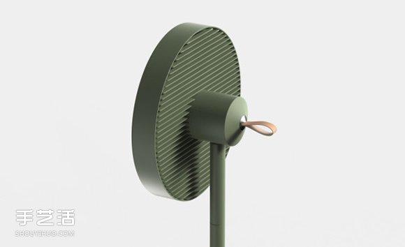 好拆好收的Conbox电风扇 节省空间的创意设计 -  www.shouyihuo.com