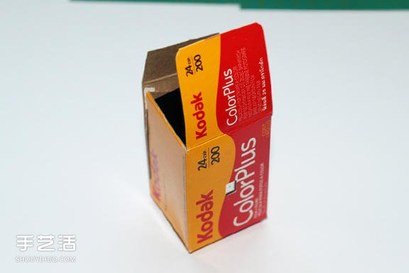 自制胶卷相机的方法 手工DIY胶卷盒针孔相机 -  www.shouyihuo.com