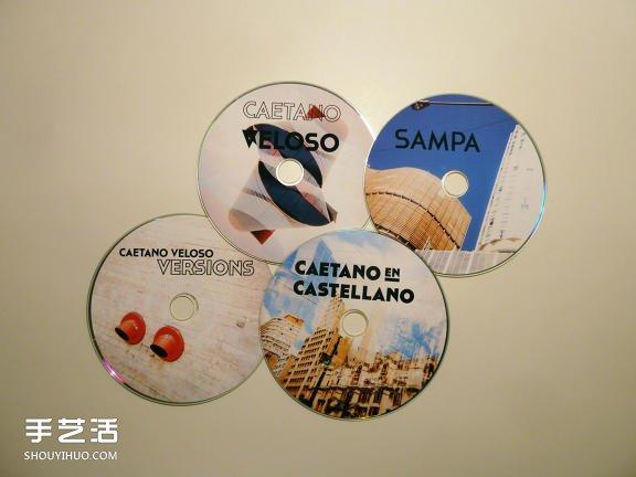 相框和CD套二合一 简单不失味道的手工礼物制作 -  www.shouyihuo.com