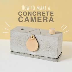 自制水泥针孔相机的方法 可拍照水泥相机DIY