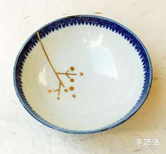 """传统手工艺""""日本金继"""" 破陶瓷翻新修补技术 -  www.shouyihuo.com"""