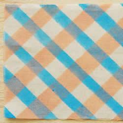DIY美丽图案布料 自己手工拓染的方法步骤