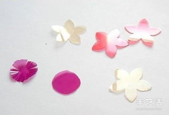 塑料花的做法圖解 手工塑料花製作方法步驟