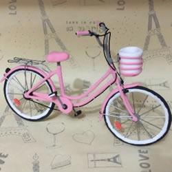 迷你自行车做法图解 手工自行车模型制作教程