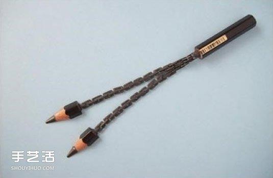 超难的铅笔芯雕刻图片 大师级铅笔芯手工制品 -  www.shouyihuo.com
