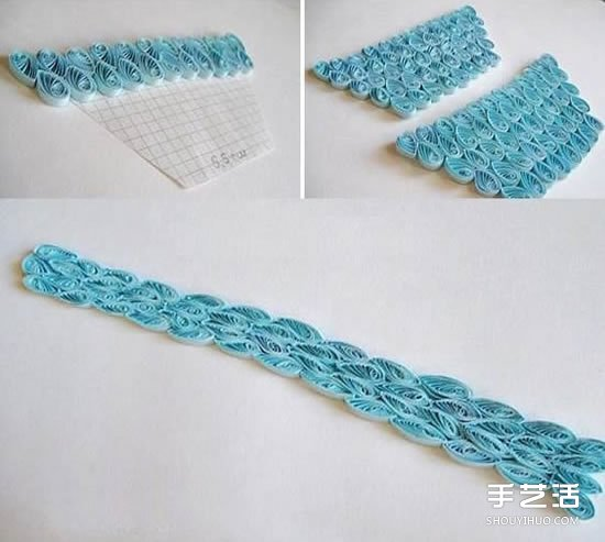 衍纸包包制作方法 手工衍纸手提包的做法图解 -  www.shouyihuo.com