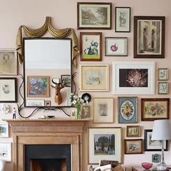 在墙上挂放艺术品的技巧:包括高度和位置