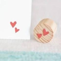 幼儿爱心印章制作方法 DIY简单爱心印章做法