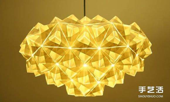 新伦敦折纸女王 创作艺术级立体灯具家饰折纸