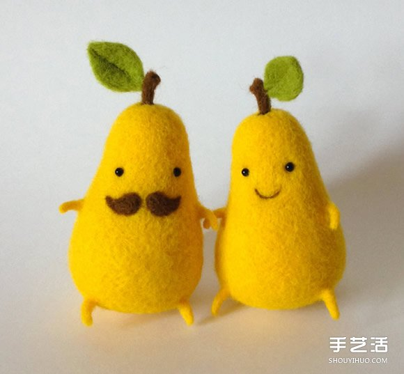 食品系羊毛毡作品 一眼就爱上的独特美味 -  www.shouyihuo.com